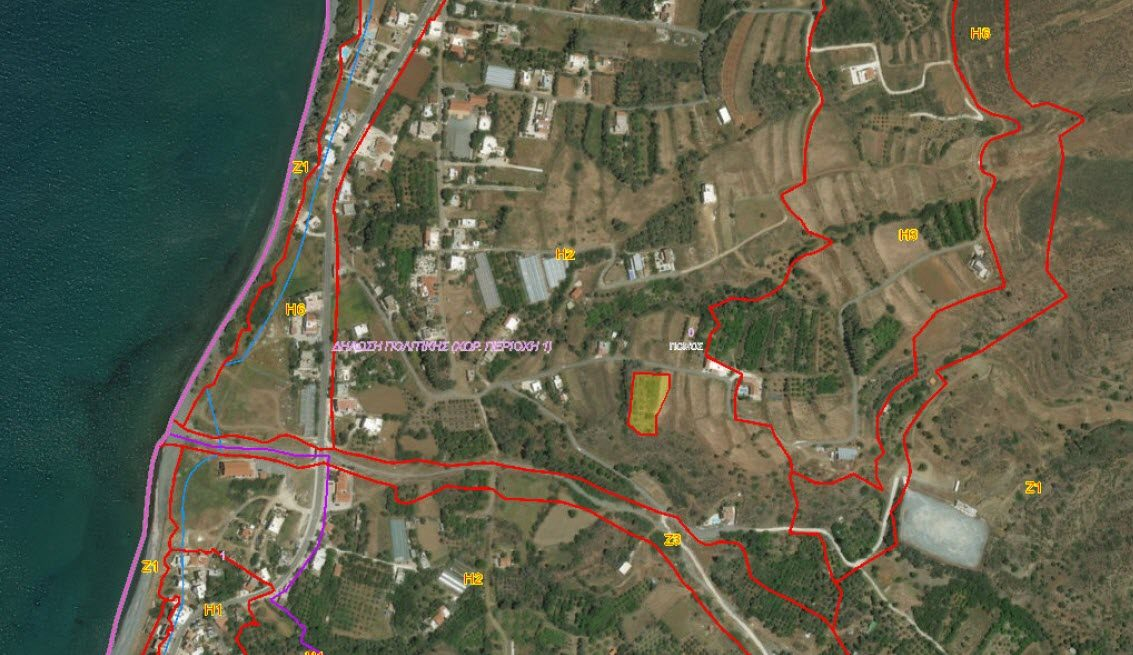 Residential Land for Sale in Pomos, Paphos