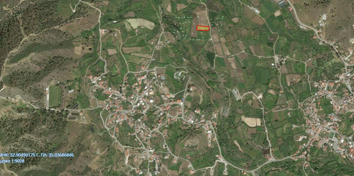 Land for Sale in Evrychou